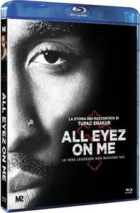 All Eyez on Me. La storia mai raccontata di Tupac Shakur (Blu-ray) di Benny Boom - Blu-ray
