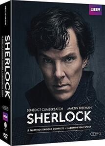 Sherlock. Definitive Edition. Stagioni 1 - 4 + L'abominevole sposa (10 DVD) - DVD