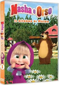 Masha e Orso. Il ritorno di Masha. Stagione 3. Vol. 1 (DVD) - DVD