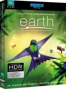 Earth. Un giorno straordinario (Blu-ray + Blu-ray 4K Ultra HD) di Richard Dale,Peter Webber - Blu-ray + Blu-ray Ultra HD 4K