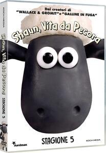 Shaun, vita da pecora. Stagione 5 (2 DVD) di Richard Starzak,Christopher Sadler - DVD