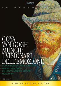 Goya, Van Gogh, Munch. I visionari dell'emozione. Collector's Edition (3 Blu-ray) - Blu-ray