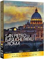 San Pietro e le basiliche papali di Roma (Blu-ray 3D + Blu-ray Ultra HD 4K)