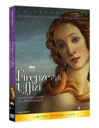 Cover Dvd Firenze e gli Uffizi. Edizione limitata con Booklet (DVD) (DVD)