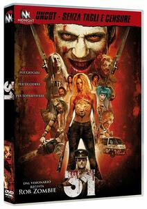 31. Standard Edition (DVD) di Rob Zombie - DVD