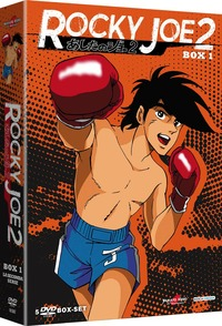 Cover Dvd Rocky Joe. Serie 2. Box 1 (DVD)