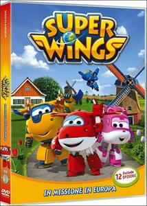 Super Wings. Vol. 1. In missione in Europa - DVD