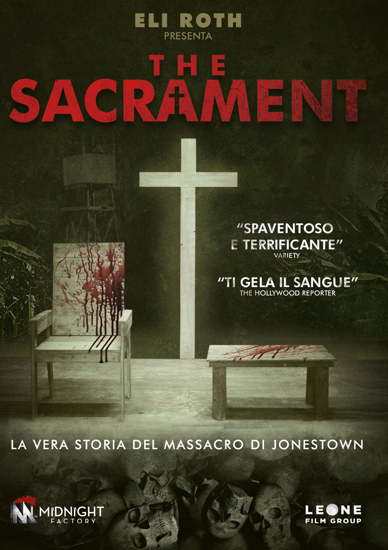 Cover Dvd DVD The Sacrament