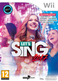 Let's Sing 2017 + microfono - Wii