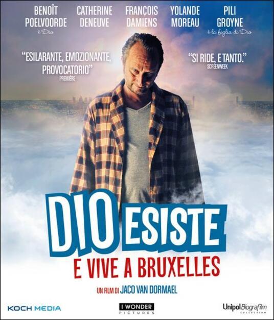 Dio esiste e vive a Bruxelles di Jaco Van Dormael - Blu-ray