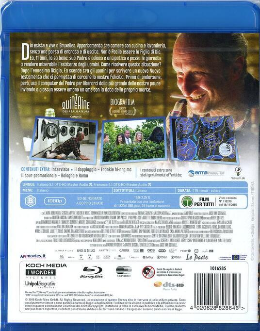 Dio esiste e vive a Bruxelles di Jaco Van Dormael - Blu-ray - 2