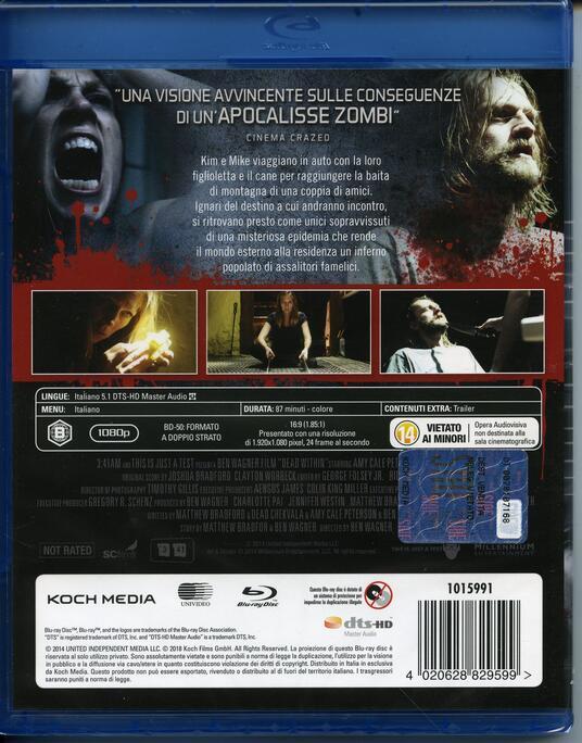 Dead Within (Blu-ray) di Ben Wagner - Blu-ray - 2