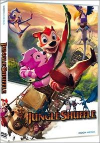 Locandina Jungle Shuffle 3D . versione 3D