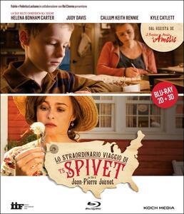 Lo straordinario viaggio di T.S. Spivet (Blu-ray + Blu-ray 3D) di Jean-Pierre Jeunet - Blu-ray + Blu-ray 3D