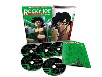 Rocky Joe. Serie 1. Box 3 (5 DVD) - DVD - 2
