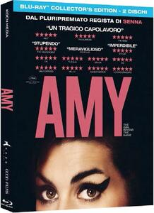 Amy. The Girl Behind the Name (2 Blu-ray)<span>.</span> Collector's Edition di Asif Kapadia - Blu-ray - 2