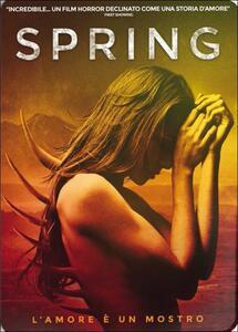 Spring (Steelbook)<span>.</span> Limited Edition di Justin Benson,Aaron Moorhead - Blu-ray