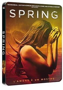 Spring (Steelbook)<span>.</span> Limited Edition di Justin Benson,Aaron Moorhead - Blu-ray - 2