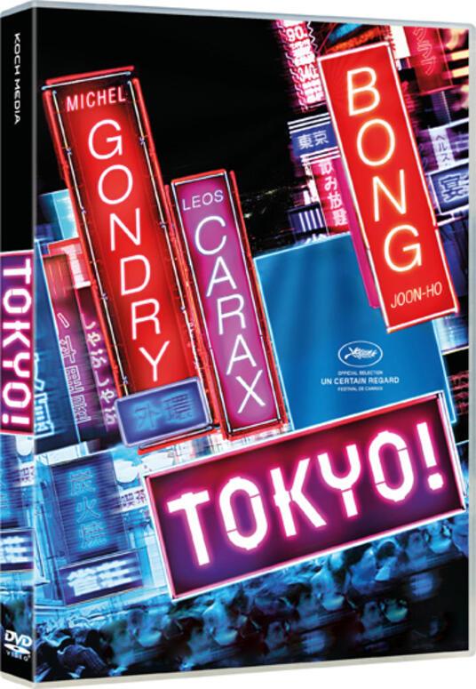 Tokyo! (DVD) di Joon-ho Bong,Leos Carax,Michel Gondry - DVD
