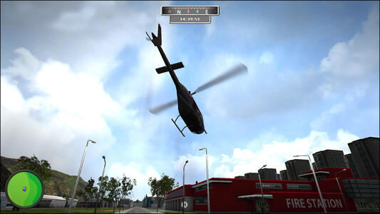 Helicopter 2015. Natural Disasters - 8