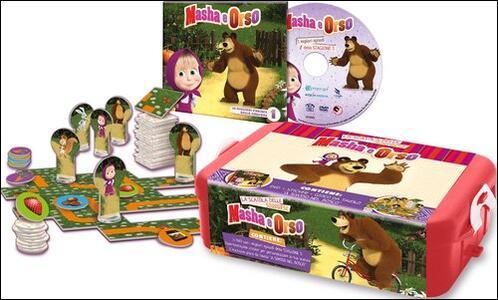 Masha e Orso. La scatola delle sorprese di Oleg Kuzovkov - DVD