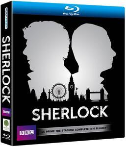 Sherlock. Stagioni 1, 2, 3 (6 Blu-ray) - Blu-ray