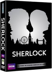Sherlock. Stagioni 1, 2, 3 (6 DVD) - DVD
