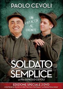 Soldato semplice (2 DVD) di Paolo Cevoli - DVD