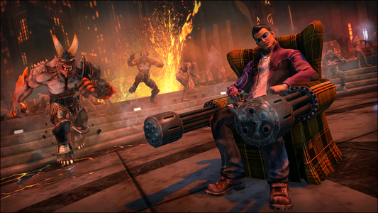 Videogioco Saints Row IV Re-Elected Gat out of Hell Xbox One 7
