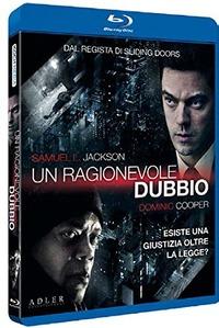 Cover Dvd ragionevole dubbio (Blu-ray)