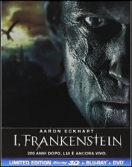 I, Frankenstein (DVD + Blu-ray + Blu-ray 3D) di Stuart Beattie