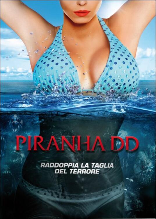 Piranha DD di John Gulager - DVD