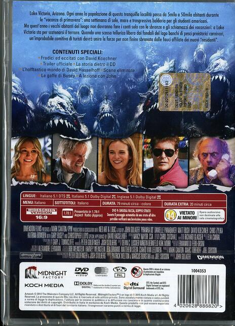 Piranha DD di John Gulager - DVD - 2