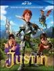 Cover Dvd DVD Justin e i Cavalieri valorosi