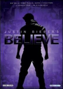Justin Bieber's Believe di Jon Chu - DVD