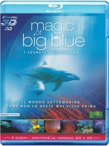 Magic of Big Blue 3D (Blu-ray + Blu-ray 3D)