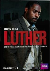 Luther. Stagione 1 - 2 (4 DVD) - DVD