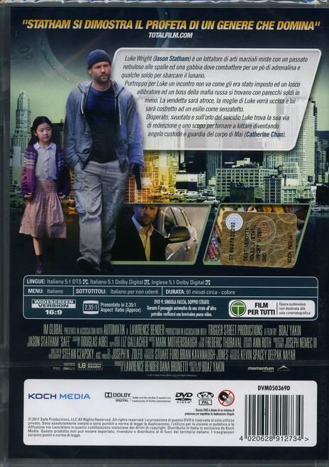Safe di Boaz Yakin - DVD - 2