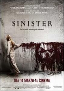 Sinister di Scott Derrickson - DVD