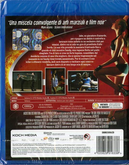 Revenge City. The Girl From The Naked Eye di David Ren - Blu-ray - 2