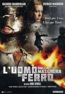 L' uomo dalla maschera di ferro di Mike Newell - DVD
