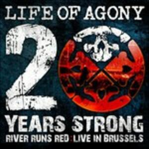 20 Years Strong. Live in Brussels - Vinile LP di Life of Agony