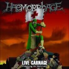 Live Carnage - Vinile LP di Haemorrhage