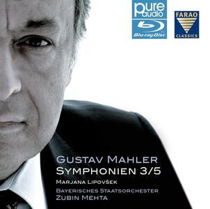 Gustav Mahler. Symphonien 3 - 5. Zubin Mehta - Blu-ray