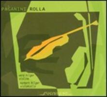 3 Duetti a violino e violoncello - CD Audio di Niccolò Paganini,Alessandro Rolla,Norbert Hilger,Vera Hilger