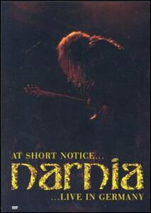 Narnia. At Short Notice... Live In Germany - DVD