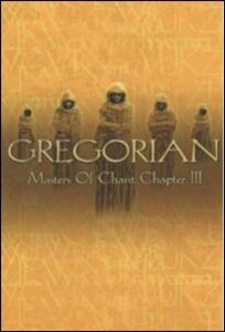 Gregorian. Masters Of Chant Chapter 3 - DVD