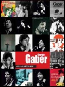 Giorgio Gaber. Gli anni settanta (con libro) (2 DVD) - DVD