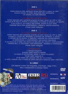 Giorgio Gaber. Gli anni novanta (con libro) (2 DVD) - DVD - 2