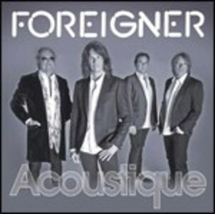 Foto Cover di Acoustique, CD di Foreigner, prodotto da EDEL